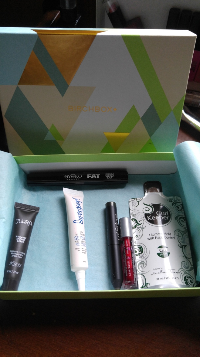 March 2016 birchbox